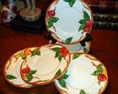 Vintage Franciscan Ware Apple Pattern Salad Dessert Bread Plate One (1)