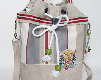 Beach Bag, Tikki Design