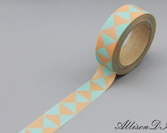 Washi Tape - Masking Tape - Japanese Washi - Deco Tape - Gift Wrap - Filofax - MT168