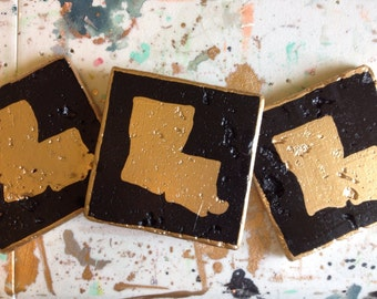 Items Similar To New Orleans Subway Art Coasters On Etsy