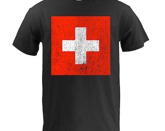 Flag of Switzerland - Black