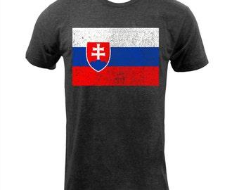 Flag of Slovakia - Tri Black
