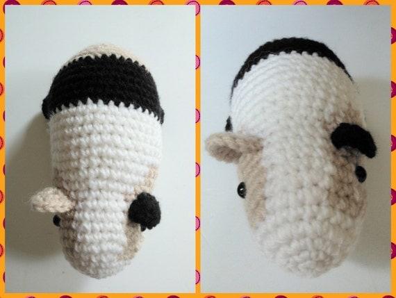 Guinea Pig Amigurumi Crochet Pattern PDF Instant Download