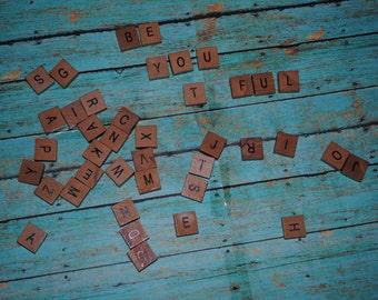 Scrabble Tile Magnets 40 pcs