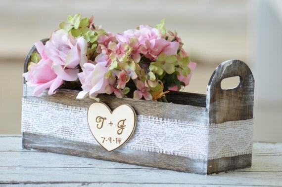 Centrotavola Matrimonio Stile Rustico : Articoli simili a centrotavola matrimonio spiaggia