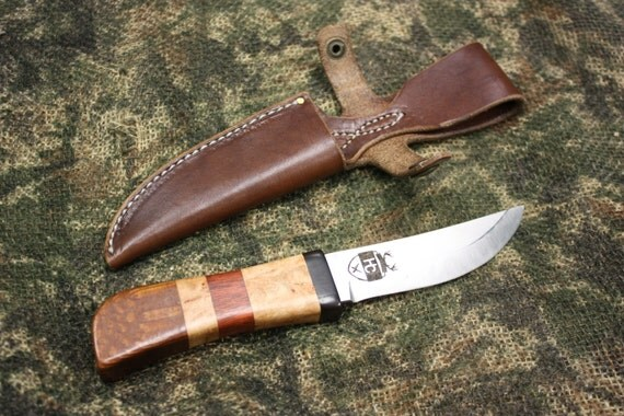 knives made in america fixed blade hunting knife usa made in america burl and