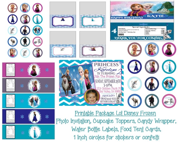 Disney Frozen Birthday Invitation Printables