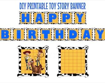 Items Similar To Printable Happy Birthday Cowgirl Jessie