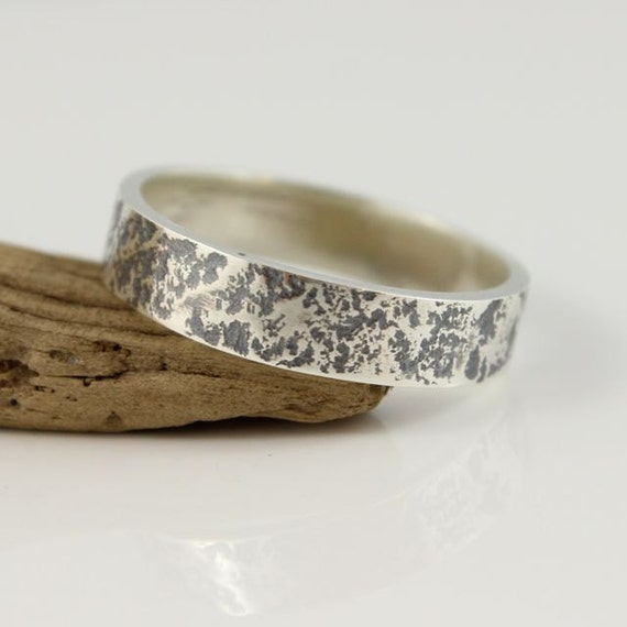 ... Ring, Mens Ring, Poesie Ring, Matching Unisex Wedding Band, Custom