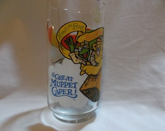 Great Muppet Caper Glass 1981