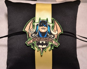 Batman Gotham City Ring Pillow