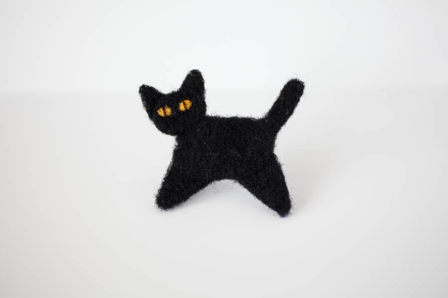 pin 3d black cat - photo #14
