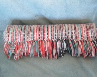Spumoni - Hand woven merino wool blend scarf