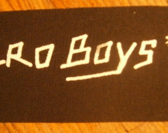 Zero Boys Patch