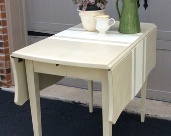 SOLD Kitchen Drop leaf Table / Sideboard