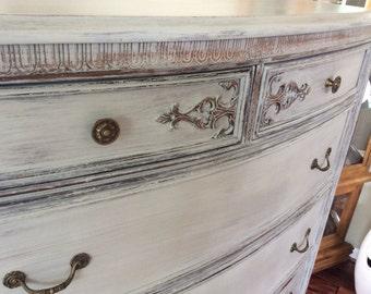 SOLD - Vintage Dresser / Chest of Drawers