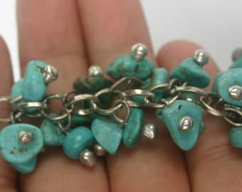 stone  bracelet with free matching earings.