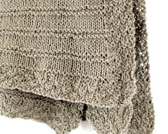 Knitting Pattern For Bassinet Blanket : Popular items for easy beginner knit on Etsy
