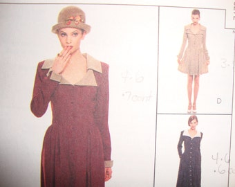 Uncut McCalls NY Collection Dress Sewing Pattern no 7827  Multi Size 8 10 12