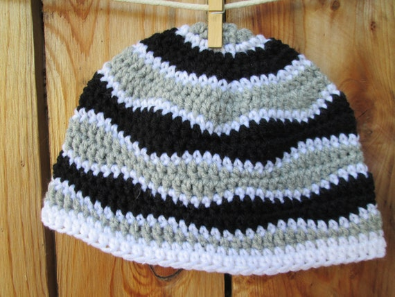 Crochet Wave pattern beanie