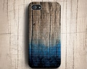 iPhone 5S case - Watercolour pain on Wood , wood iphone 5 case , iphone 4s iphone 5S case