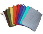 Clip on Pocket Towel **SET OF 3** Disc Golf - Fishing - Hunting - Gardening
