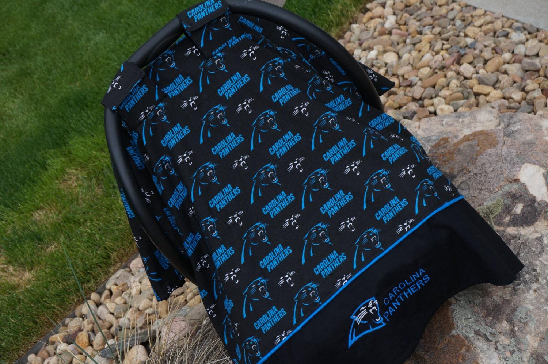 Carolina Panthers Car Seat Canopy