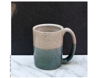 cup : mug in spring green