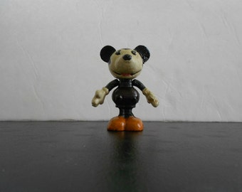 Vintage Cast Iron Mickey Mouse with Movable Arms
