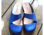 Hand Made Leather Mule for Woman - Shayki clogs