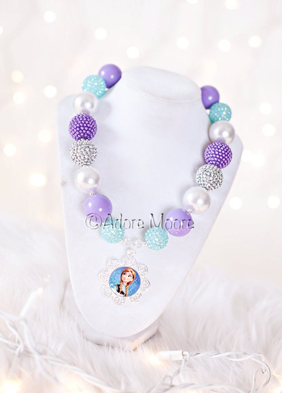 Frozen Inspired Necklace Frozen Inspired Necklace Elsa