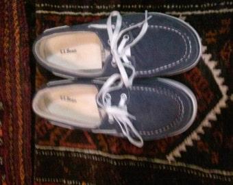 LLBean mens deck shoes size. 8.0