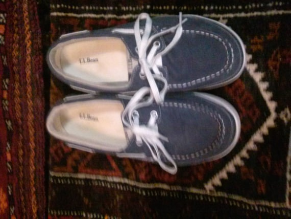 LLBean mens deck shoes size. 8.0