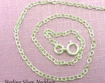 Sterling Silver Chain - Choose Your Length