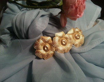 Vinage Hair Barrette made in France  Vintage Hair Accessory made in France