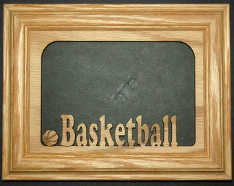 Basketball Picture Frame 5x7
