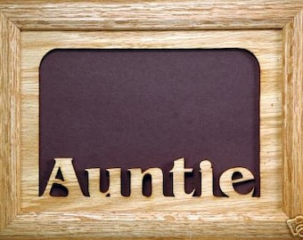 Auntie Picture Frame 5x7