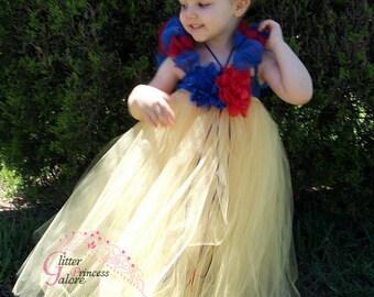 Snow  White princess Tutu Dress Costume