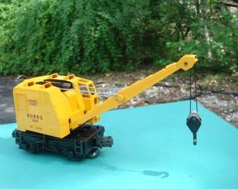 Lionel Trains Burro Crane 3360
