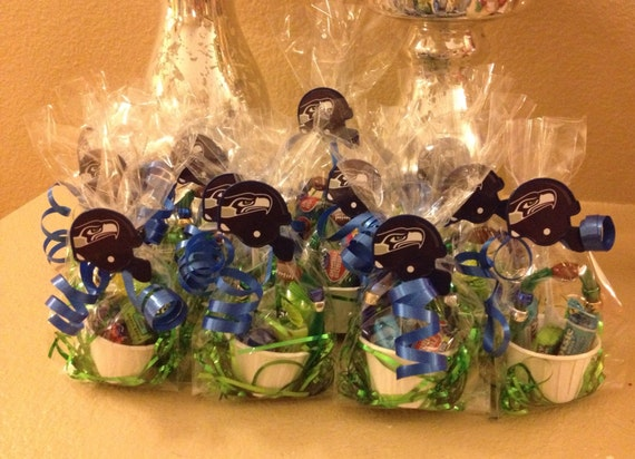 One dozen 12 seattle seahawks super bowl party favors for Super bowl party items
