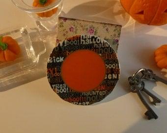 Halloween Script Plate for Dollhouse