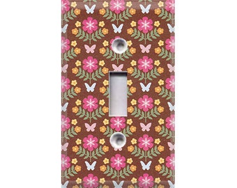 Garden - Butterflies Light Switch Cover