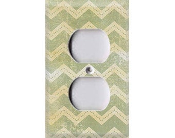 Nature Lover Collection - Chevron Outlet Cover