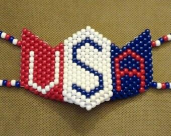 Super Patriot USA Kandi Mask