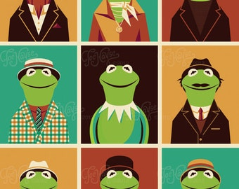 The Faces of Kermit