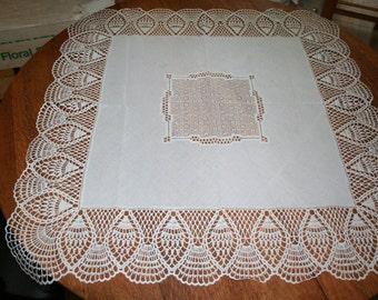Vintage Square Tablecloth