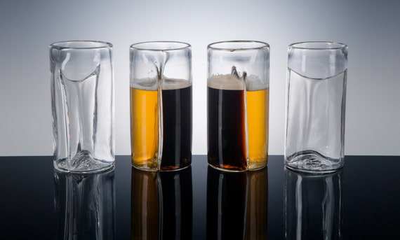 Dual Beer Glass, Set of 4