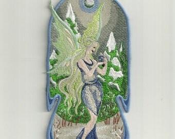 Winter Fairy Patch! Custom Made!