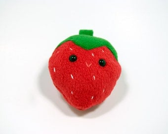 Cute Strawberry Fruit Plush Toy