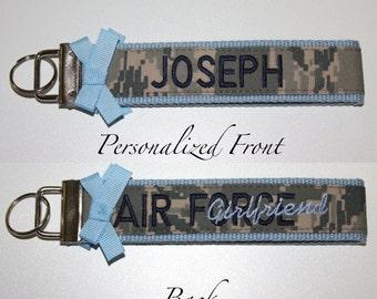 Custom Air Force Premium Wristlet in ABU Material